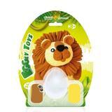 Set creatie pentru modelaj Orange Elephant, Lion 1