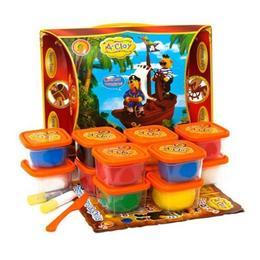 Set creatie pentru modelaj Orange Elephant, Pirates