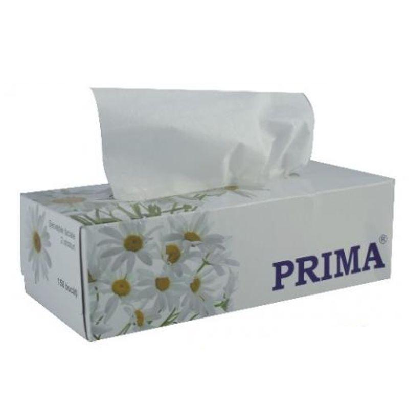 Servetele Faciale Celuloza - Prima Cellulose Facial Wipes 150 buc imagine produs