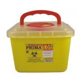 Recipient Plastic Deseuri Intepatoare - Prima ADR Plastic Container for Sharp Stinging Waste 5 litri