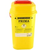 Recipient Plastic Deseuri Intepatoare - Prima ADR Plastic Container for Sharp Stinging Waste 7 litri