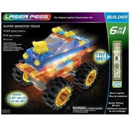Super Monster Truck 6 în 1 - 91 piese - Laserpegs