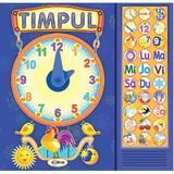 Carte cu sunete: Timpul + poezii - Inesa Tautu, editura Dorinta