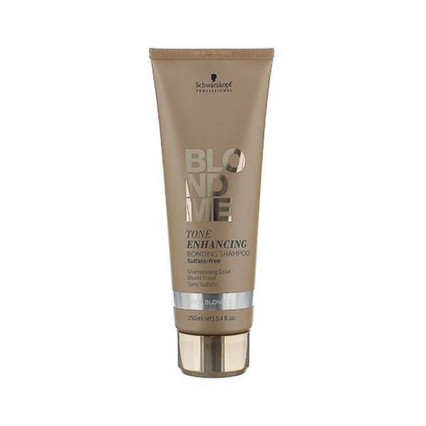 Sampon pentru Par Blond Rece - Schwarzkopf Blond Me Tone Enhancing Bonding Shampoo Cool Blondes, 250ml imagine produs
