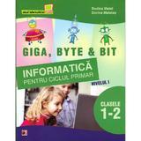 Informatica Cls 1-2 Nivelul I.Giga, Byte & Bit - Rodica Matei, Dorina Mateias, editura Paralela 45