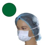 Masca Protectie Verde cu Legaturi - Prima Green Surgical Face Mask Ties on Both Sides 50 buc