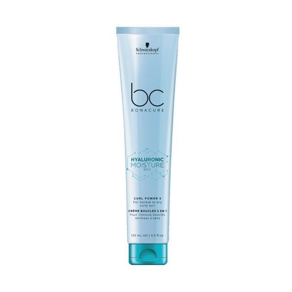 Crema Hidratanta pentru Definirea Buclelor - Schwarzkopf BC Bonacure Hyaluronic Moisture Kick Curl Power 5, 125ml imagine produs