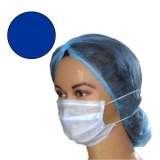Masca Medicala Albastra cu Elastic - Prima Blue Medical Face Mask Ear-Loop 50 buc