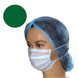 Masca Medicala Verde cu Elastic - Prima Green Medical Face Mask Ear-Loop 50 buc