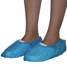 Acoperitori Pantofi Albastri - Prima Blue LDPE 3G Shoe Cover 100 buc