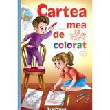 Cartea mea de colorat, editura Teopiticot
