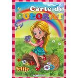Carte De Colorat: Fetite, editura Teopiticot