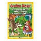 3 Povesti: Scufita Rosie. Povestea Imparatului Prefacut In Copac. Randunica Si Vrabiile, editura Teopiticot
