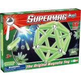Set Constructie Luminos 66 piese Supermag Maxi Glow