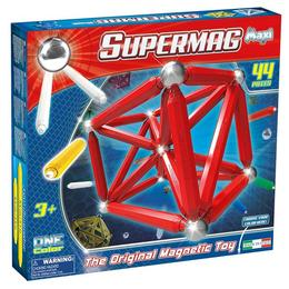 Set Magnetic 44 piese - Supermag Maxi One Color