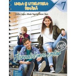 Jurnalul meu scolar pentru vacanta - Clasa 7 Limba romana ed.2018 - Cristina Cergan, Mihaela Pogonici, editura Paralela 45