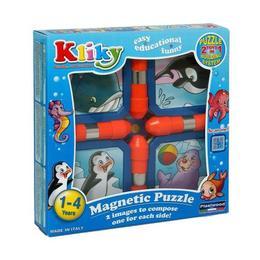 Set Puzzle Magnetic Animale Marine - Supermag Kliky