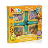 Set Puzzle Magnetic Animale Safari - Supermag Kliky