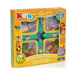 Set Puzzle Magnetic Animale Safari - Supermag Kliky