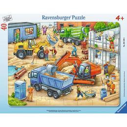 Puzzle utilaje, 40 piese - Ravensburger
