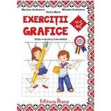 Exercitii grafice 4-5 ani ed.2017 - Mariana Andreianu, editura Diana