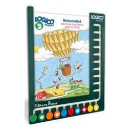 Logico - Set Cu Tablita - Matematica. Adunarea Si Scaderea Pana La 100 (2) - 8 Ani +