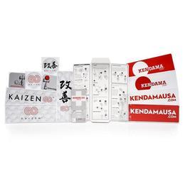 Kendama USA - Kaizen 2.0 – 70/30 – Beech – Pink and Mint