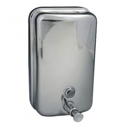 Dispenser Sapun Inox cu Cheie - Prima Soap Dispenser Stainless Steel Mirror Shine