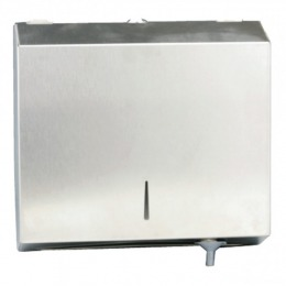 Dispenser Inox Hartie Pliata C si M – Prima C and M Fold Towel Dispenser Stainless Steel Mirror Shine