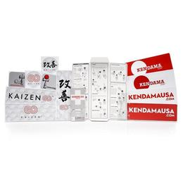 Kendama USA - Kaizen - Beech - Silk - Pink