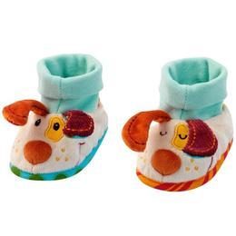 Set Cadou Papucei de Bebeluși în cutie, Jef cățelul haois - Lilliputiens