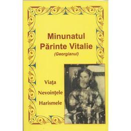 Minunatul Parinte Vitalie (Georgianul), editura Egumenita