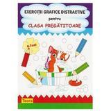 Exercitii grafice distractive pentru clasa pregatitoare, editura Teora