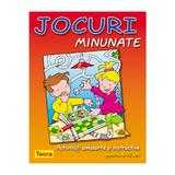 Jocuri Minunate - Activitati amuzante si instructive pentru 6-10 ani, editura Teora