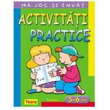 Ma joc si invat - Activitati practice pentru 5-6 ani, editura Teora