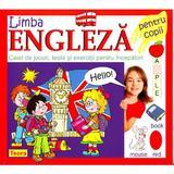Limba engleza. Caiet de jocuri, Teste si exercitii pentru incepatori, editura Teora