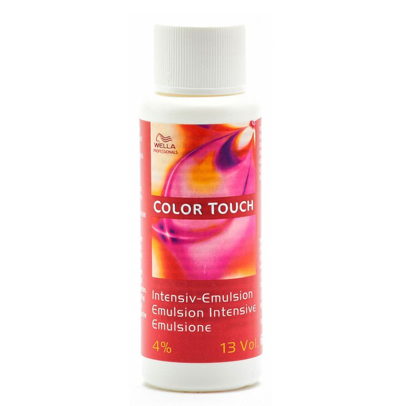 Oxidant Vopsea fara Amoniac 13 vol - Wella Professionals Color Touch Activating Emulsion 4 % 60 ml poza