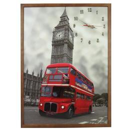 Tablou Cu Ceas Inramat 50x70 Cm London