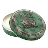 Pomada Fixare Medie si Aspect Natural - Reuzel Grease Medium Hold Green Pomade 35 gr