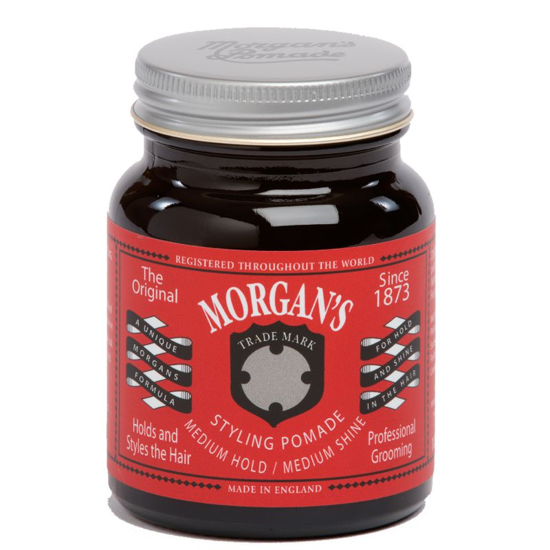 Pomada Fixare Medie - Morgan's Medium Shine and Hold Pomade 100 ml