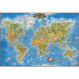 Harta lumii pentru copii, editura Grupul Editorial Art