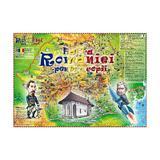 Harta Romaniei pentru copii, editura Grupul Editorial Art