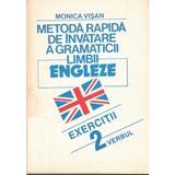 1+2+3 Metoda rapida de invatare a gramaticii limbii engleze - Monica Visan, editura For You