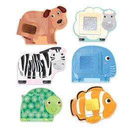 Puzzle creaza Animale Senzoriale-Montessori - Headu