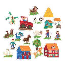 Primul Meu Puzzle Montessori Atinge - Headu