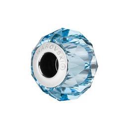 Accesoriu bratara, Charm Swarovski Briolette Aquamarine