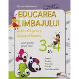 Educarea limbajului 3-4 ani caiet grupa mica - Stefania Antonovici, editura Aramis