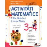 Activitati matematice. Caiet pentru grupa mica, 3-4 ani - Stefania Antonovici, Mihaela Mitroi, editura Aramis