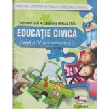 Educatie civica cls 4 sem.1+ sem.2 + CD - Tudora Pitila, Cleopatra Mihailescu, editura Aramis