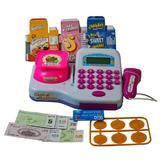 Casa de marcat cu sunete, scanner, bancnote, monede si produse pentru vanzare - Cash Register
